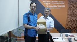 朱立倫市長訪視3D列印專家 德芮達科技