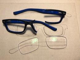 運用3D列印自製鏡框