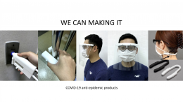 3D Printing Anti-Epidemic Products